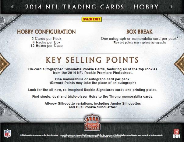 NFL 2014 PANINI CROWN ROYALE FOOTBALL BOX(送料無料)
