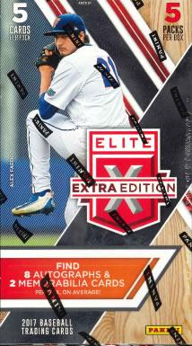 2017 ELITE EXTRA EDITION BASEBALL BOX