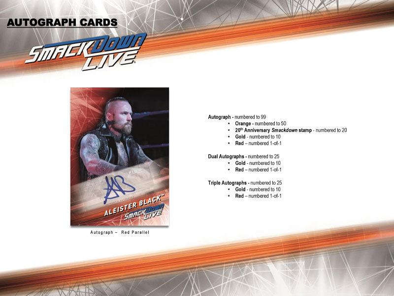 2019 TOPPS WWE SMACKDOWN LIVE BOX(送料無料)