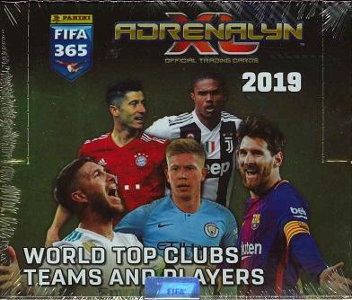 2019 PANINI FIFA365 WORLD SOCCER ADRENALYN XL BOX