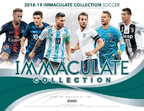 2018/19 PANINI IMMACULATE COLLECTION SOCCER BOX