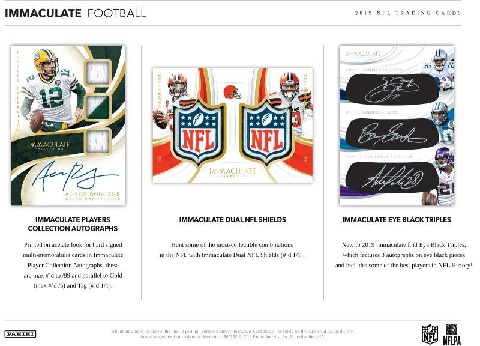 NFL 2019 PANINI IMMACULATE COLLECTION FOOTBALL