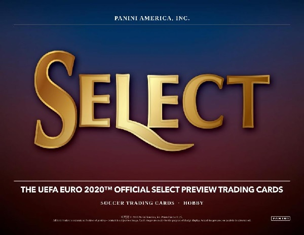 PANINI 2020 SELECT UEFA EURO SOCCER HOBBY BOX