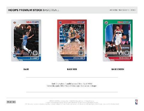 NBA 2019/20 PANINI HOOPS PREMIUM STOCK BLASTER BOX