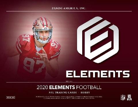 NFL 2020 PANINI ELEMENTS FOOTBALL