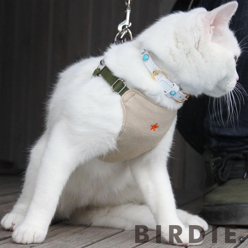 S スターソフトハーネス【BIRDIE小型犬胸当て付胴輪】