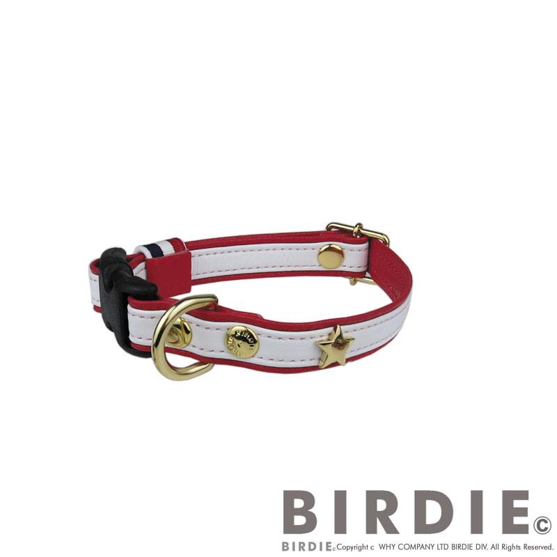 Sスターソフトレザーカラー【BIRDIE小型犬ワンタッチバックル本革首輪】