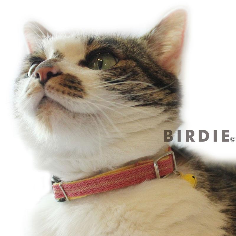 CATターラカラー【BIRDIE猫用首輪】