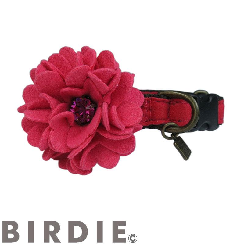 S ダリアカラー【BIRDIE(バーディ)小型犬ワンタッチバックル首輪】