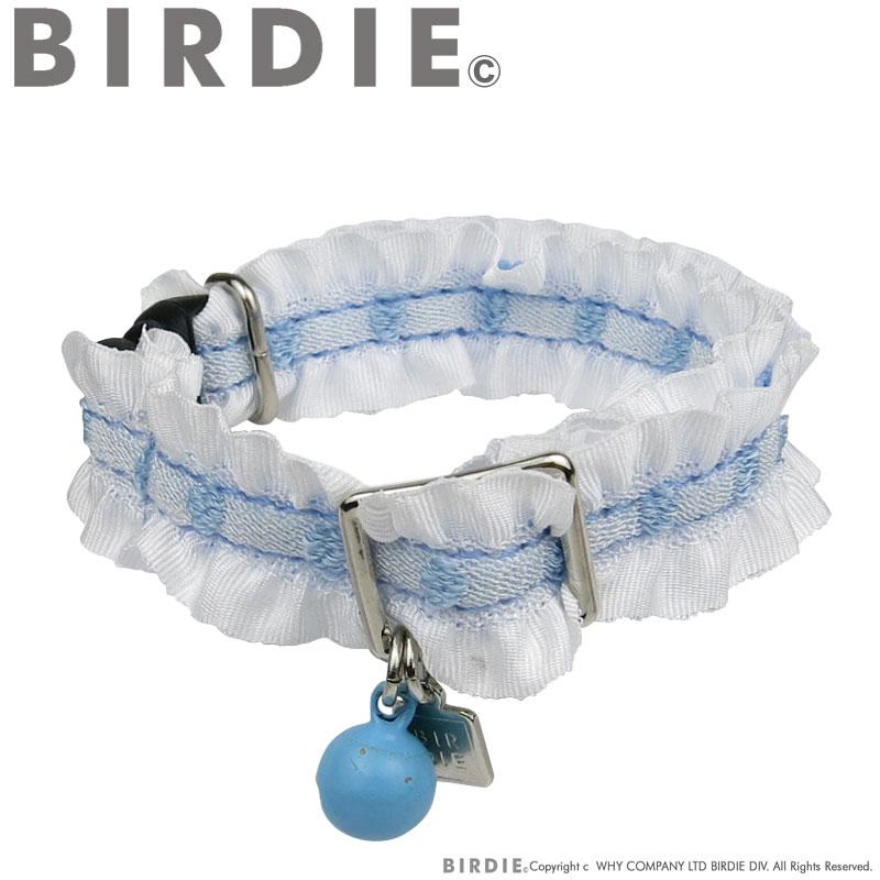 CATドットフリルカラー【BIRDIE猫用首輪】
