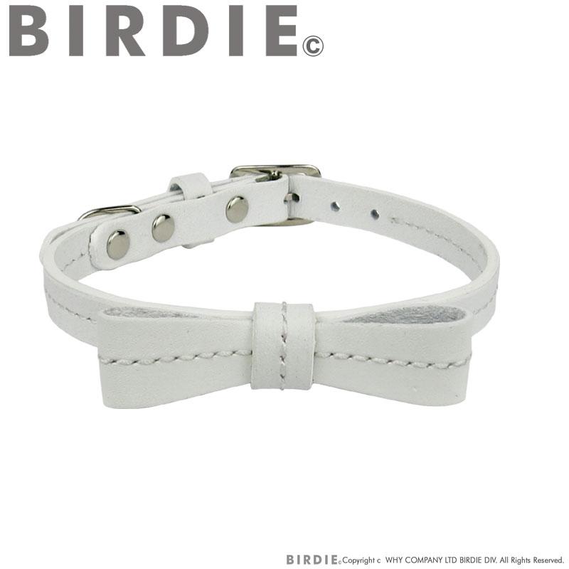 18 リボンステッチカラー【BIRDIE超小型犬・猫用革首輪】