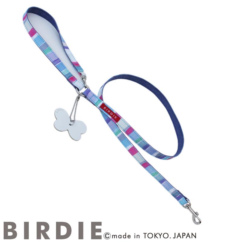M マルチボーダーリード【BIRDIE中型犬カフェタイプリード】