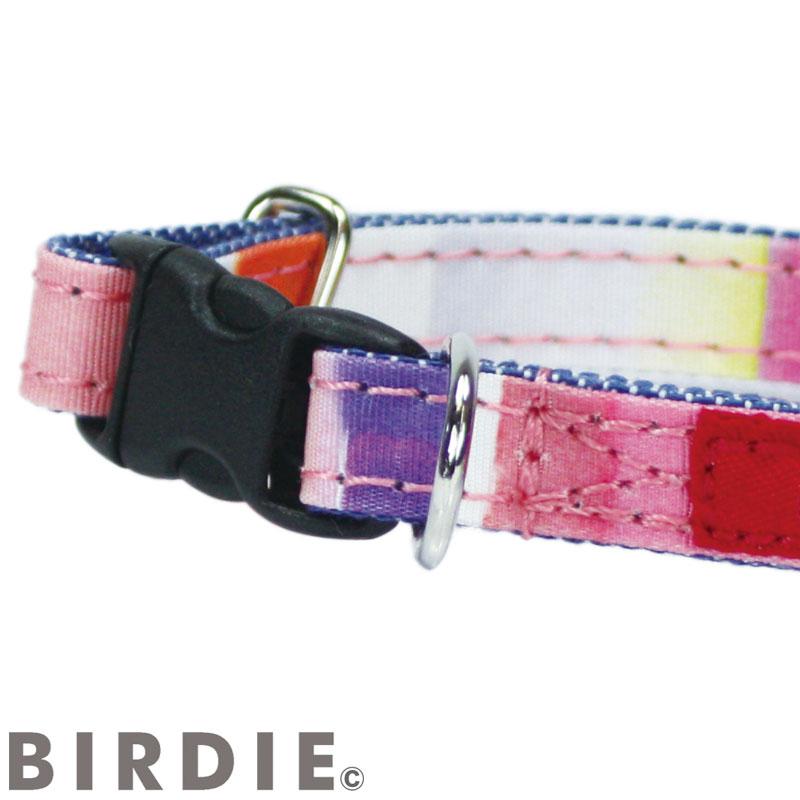 SS マルチボーダーIDカラー【BIRDIE小型犬・猫迷子防止首輪】