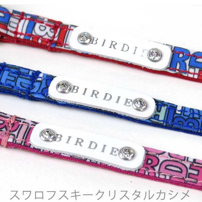 S モノグラムリード【BIRDIE(バーディ)中型犬用カフェタイプリード】