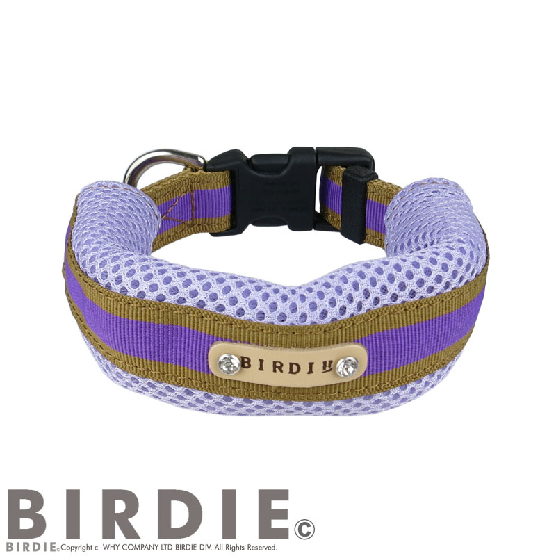 M ラッセルクッションワンタッチカラー【BIRDIE(バーディ)小・中型犬用首輪】