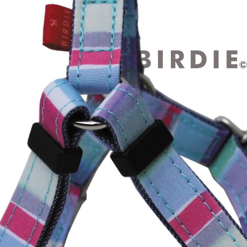 L マルチボーダーハーネス【BIRDIE(バーディ)大型犬用ワンタッチバックル足入れ胴輪】