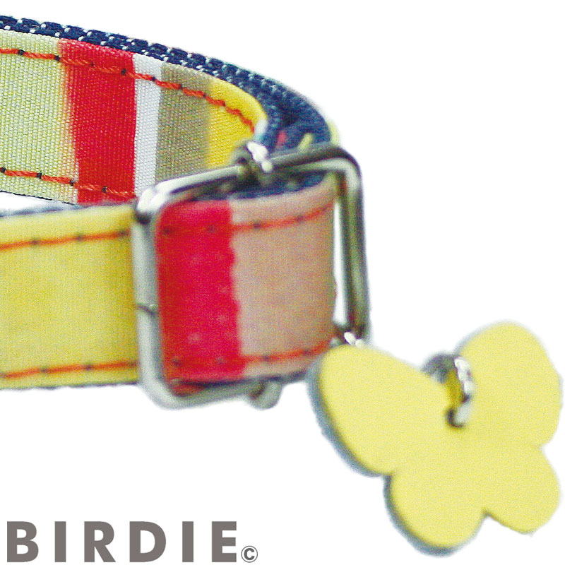S マルチボーダーIDカラー【BIRDIE小型犬迷子防止首輪】