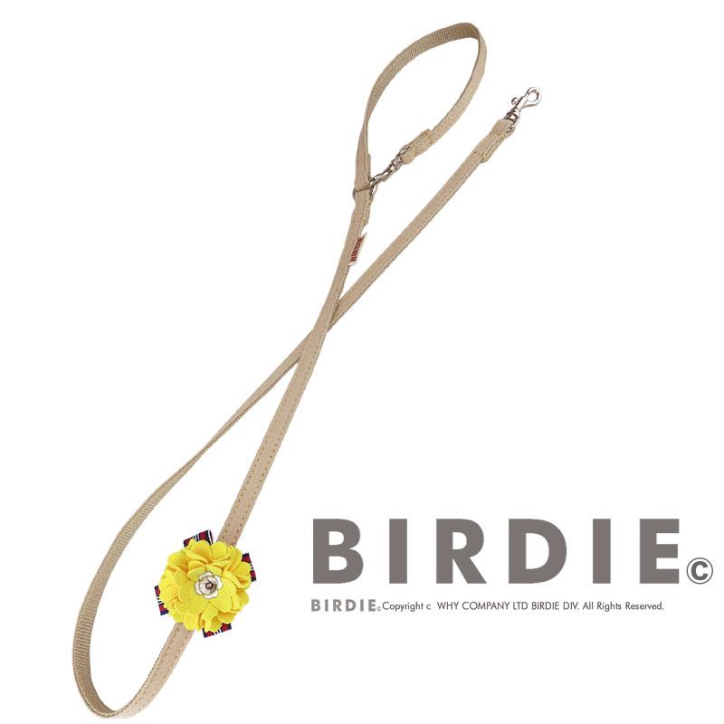 SS ロゼットデニムリード【BIRDIE小型犬リード】