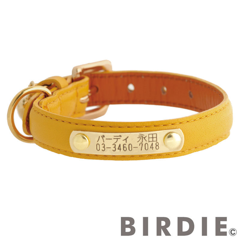 28 プチIDカラー【BIRDIE小型犬迷子首輪】
