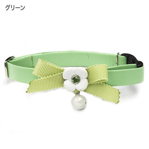 CATフラワーリボンカラー【BIRDIE猫用首輪】