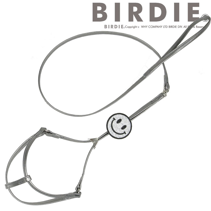 M スマイル胴輪リード【BIRDIE胴輪リード】