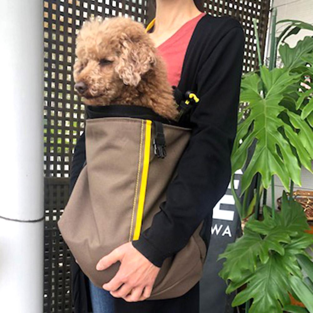 【イージースリング】キャンバスイージースリングキャリー【BIRDIE小型犬抱っこキャリー】
