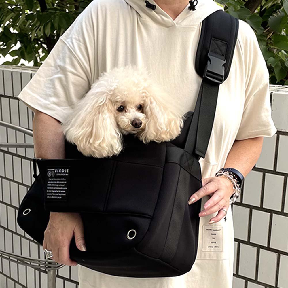 ネオプレーンスリングキャリー【BIRDIE小型犬抱っこキャリー】