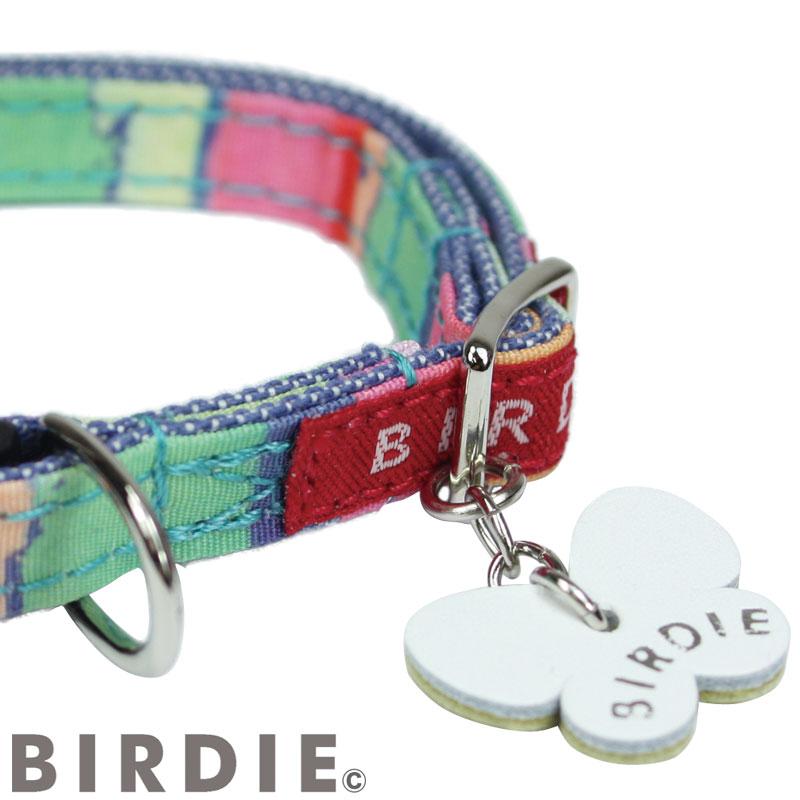 SS ワンタッチマルチボーダーカラー【BIRDIE(バーディ)超小型犬用ワンタッチバックル首輪】