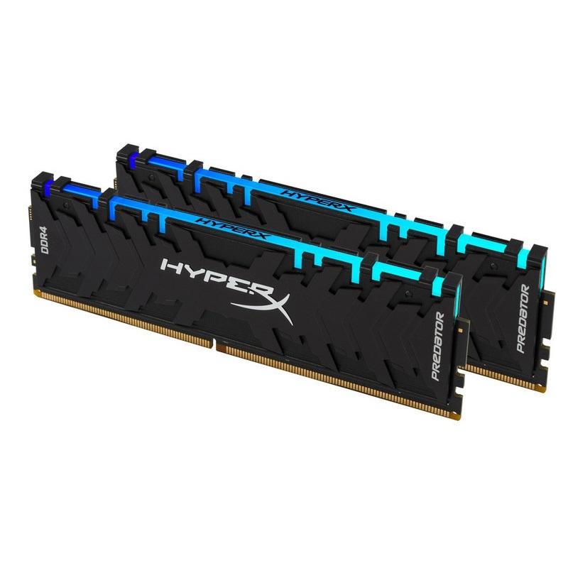 【メーカー取り寄せ】 キングストン HyperX Predator RGB 16GB(8GB×2枚組) 4000MHz DDR4 CL19 DIMM (Kit of 2) XMP RGBイルミネーション搭載 HX440C19PB3AK2/16