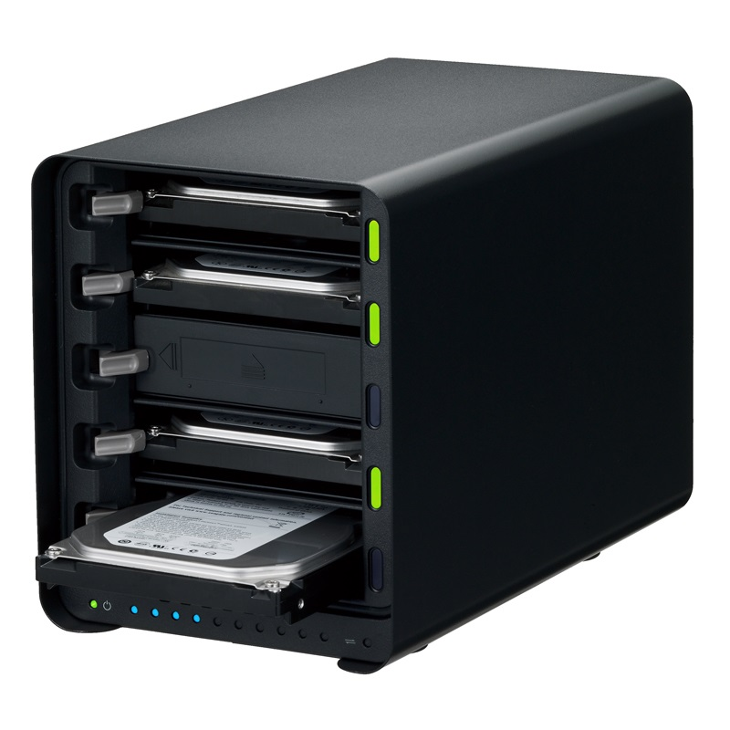 Drobo 5D3(Gold Edition) USB3.0 & Thunderbolt3対応 外付けHDDケース 3.5インチ×5bay Beyond RAID(R) ストレージシステム PDR-5D3GLD