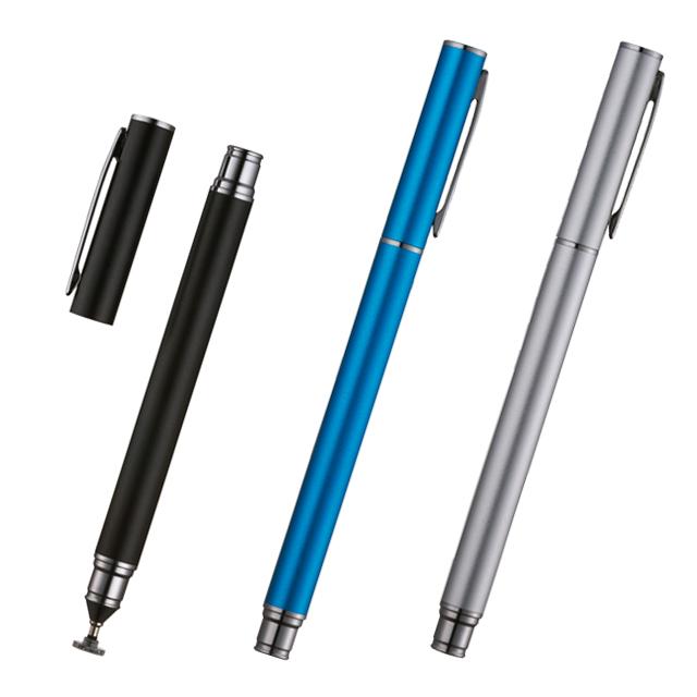 タッチペン 全3色 先端透明ディスク搭載・ペンクリップ付き PSA-TP6Eシリーズ