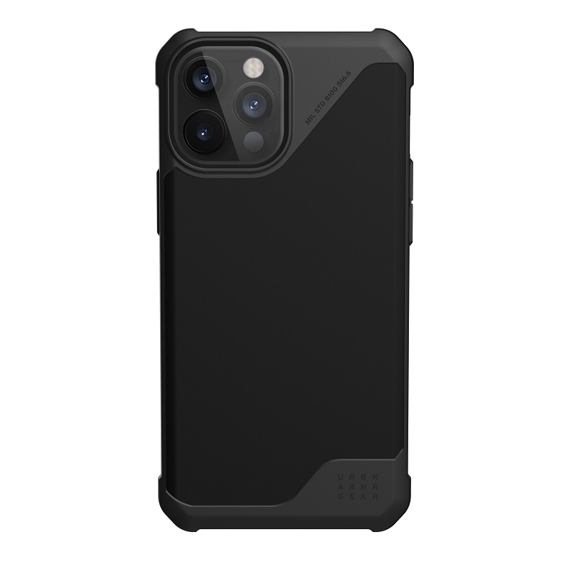 UAG iPhone 12 Pro Max用 METROPOLIS LT ポリウレタンケース ブラック 耐衝撃 UAG-IPH20LFL-BK 6.7インチ