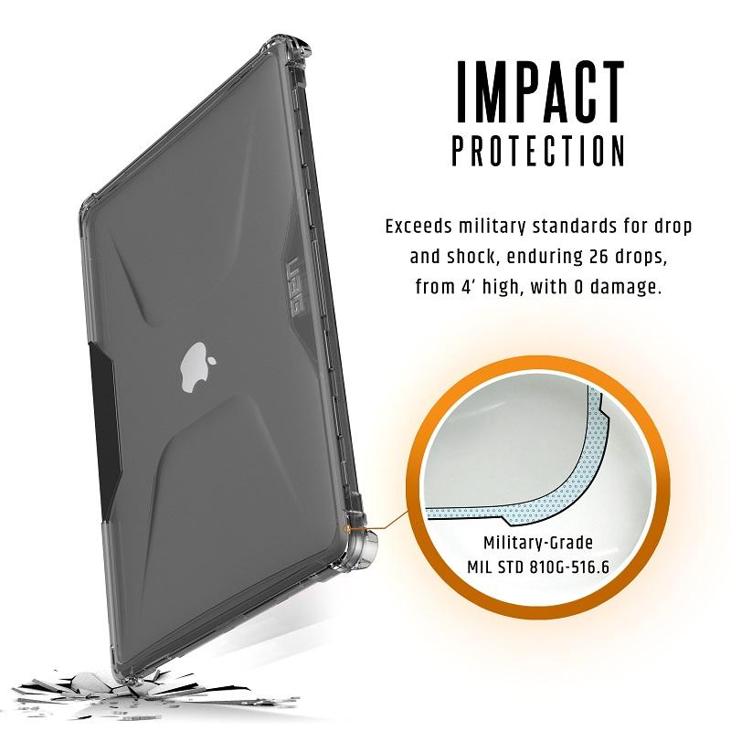 UAG MacBook Pro 16インチ  (2019)用 PLYOケース アイス(クリアカラー) 耐衝撃 UAG-MBP16Y-IC