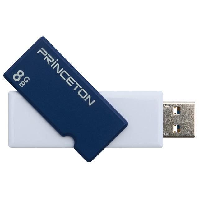 USBフラッシュメモリー ・8GB ・全3色 ・USB 3.0 ・回転式カバータイプ PFU-XTF/8G