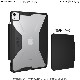 UAG iPad Air (第4世代) / 11インチ iPad Pro (第2/第1世代)用 PLYOケース ブラック/アイス(クリアカラー) 耐衝撃 UAG-IPDA4Y-BK/IC