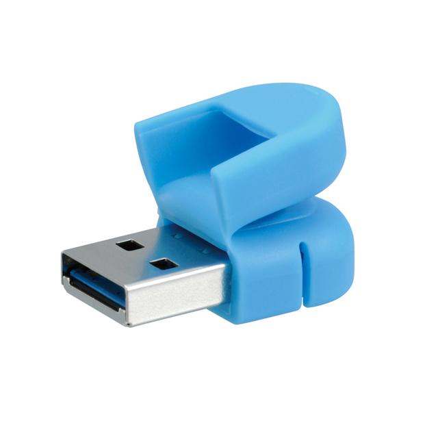 (在庫限り) USBフラッシュメモリー スマホ・タブレット用 16GB ・全3色 ・USB 3.0 ・micro-Bコネクター搭載 ・キャップ付き PFU-XMT3/16G