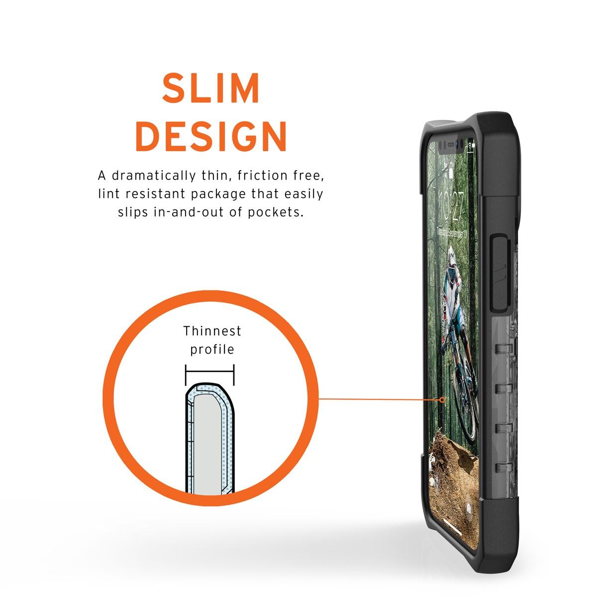 UAG iPhone 12 mini用 PLASMAケース クリアカラー 全3色 耐衝撃 UAG-IPH20STシリーズ 5.4インチ