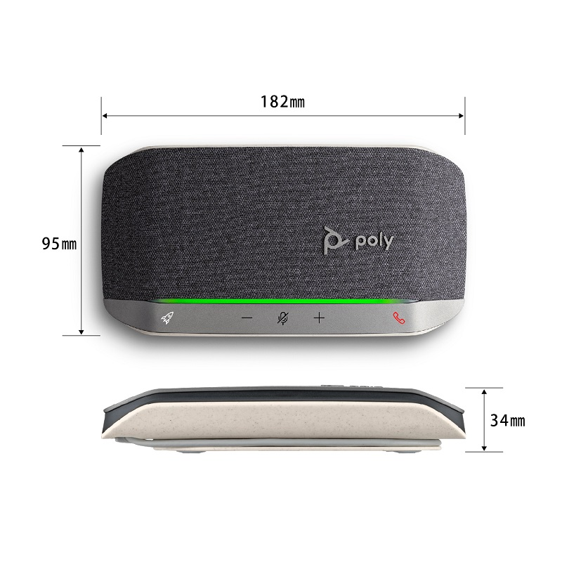 Poly Sync 20 スピーカーフォン スタンダードモデル PPSYNC-SY20UA PPSYNC-SY20UC
