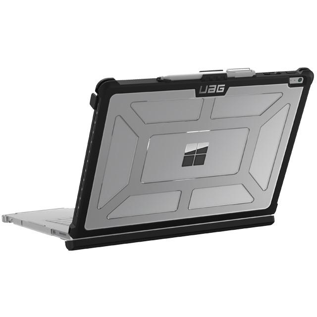 UAG Surface Book 2 (13.5インチ)用 PLASMAケース アイス(クリアカラー) 耐衝撃 UAG-SFBKUNIV-IC-1