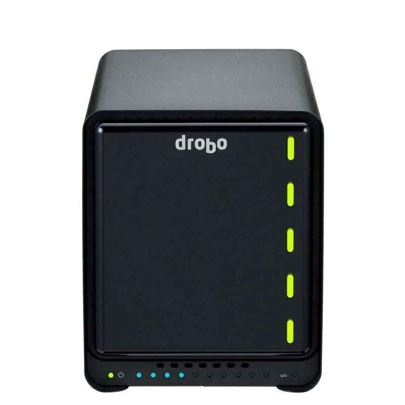 Drobo 5C USB3.0(Type-Cコネクター搭載)対応 外付けHDDケース 3.5インチ×5bay Beyond RAID(R) ストレージシステム PDR-5C