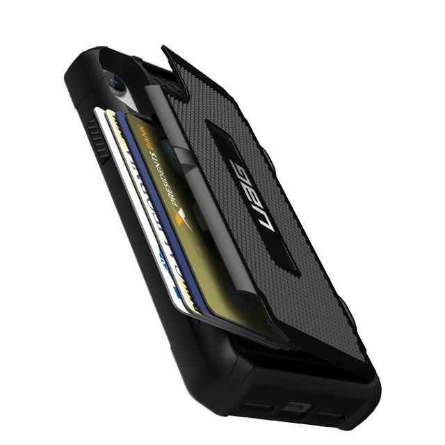 【未開封】【日本正規代理店品】【訳ありプレミアムアウトレット】 UAG iPhone XR (6.1インチ)用 TROOPERケース (カード収納) ブラック 耐衝撃 UAG-IPH18SNシリーズ