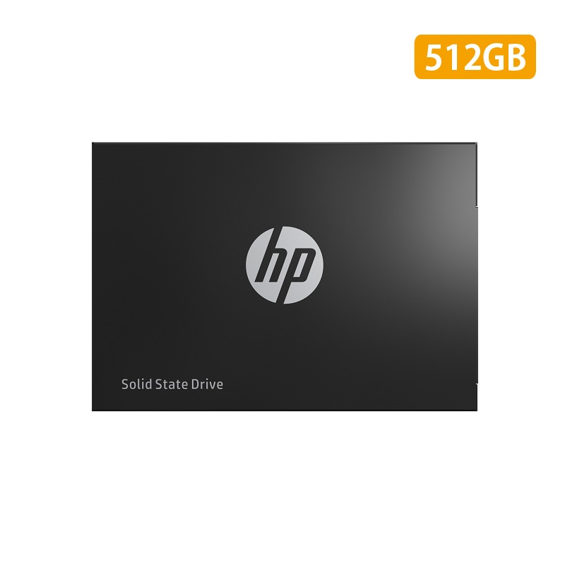 HP 2.5インチ内蔵SSD S750シリーズ ブラック 512GB 7mm/ SATA3.0/ 3D TLC/ 3年保証 16L53AA#UUF