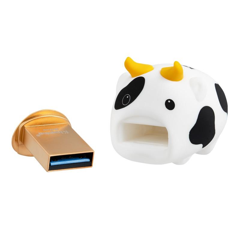 キングストン Mini COW USB メモリー 64GB 2021年丑年限定版 USB3.2 Gen1 DTCNY21/64GB