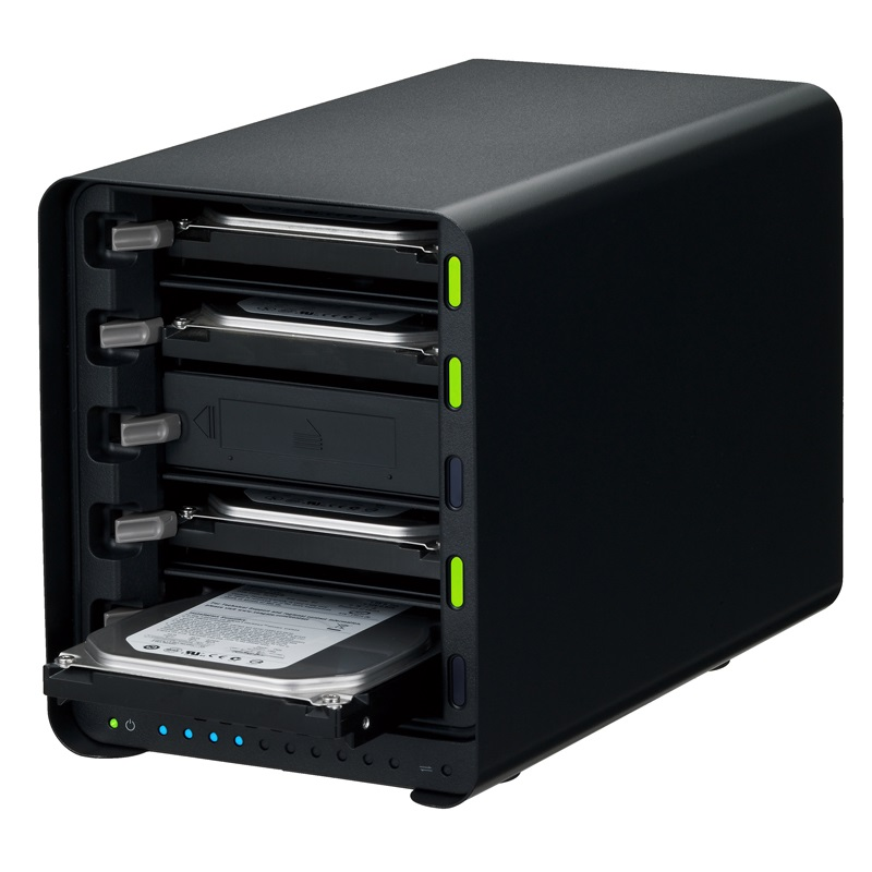 Drobo 5N2 NASケース 3.5インチ×5bay Beyond RAID(R) ストレージシステム PDR-5N2