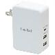 (在庫限り)Unitap USB充電器 ホワイト Type-C対応 3ポート パワーデリバリー・スマートパワーポート・急速充電対応 PPS-UTAP9WH