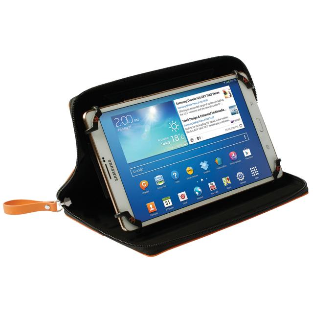 (販売終了) WALK ON WATER 10-12 インチ用ユニバーサルタブレットケース 全4色 撥水加工・2段階スタンド機能付き WOW-UNITAB10/12シリーズ