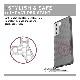 U by UAG Galaxy S21用 LUCENTケース クリア&ドット 全4色 耐衝撃 UAG-UGLXS21LUシリーズ