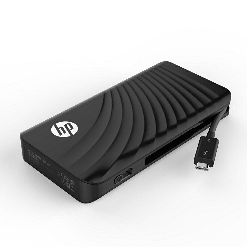 HP ポータブルSSD P800シリーズ 1TB Thunderbolt3 (Type-C)/ 3D TLC/ DRAMキャッシュ搭載/ 3年保証 3SS21AA#UUF