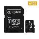 【メーカー取り寄せ】(在庫限り) キングストン microSDXCカード Canvas Select Plus 64GB カードアダプタ付 SDCS2/64GB