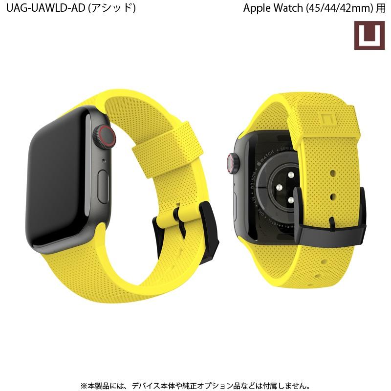 U by UAG Apple Watch用バンド 44mm&42mm DOT シリコーンゴムバンド 全4色 UAG-UAWLDシリーズ